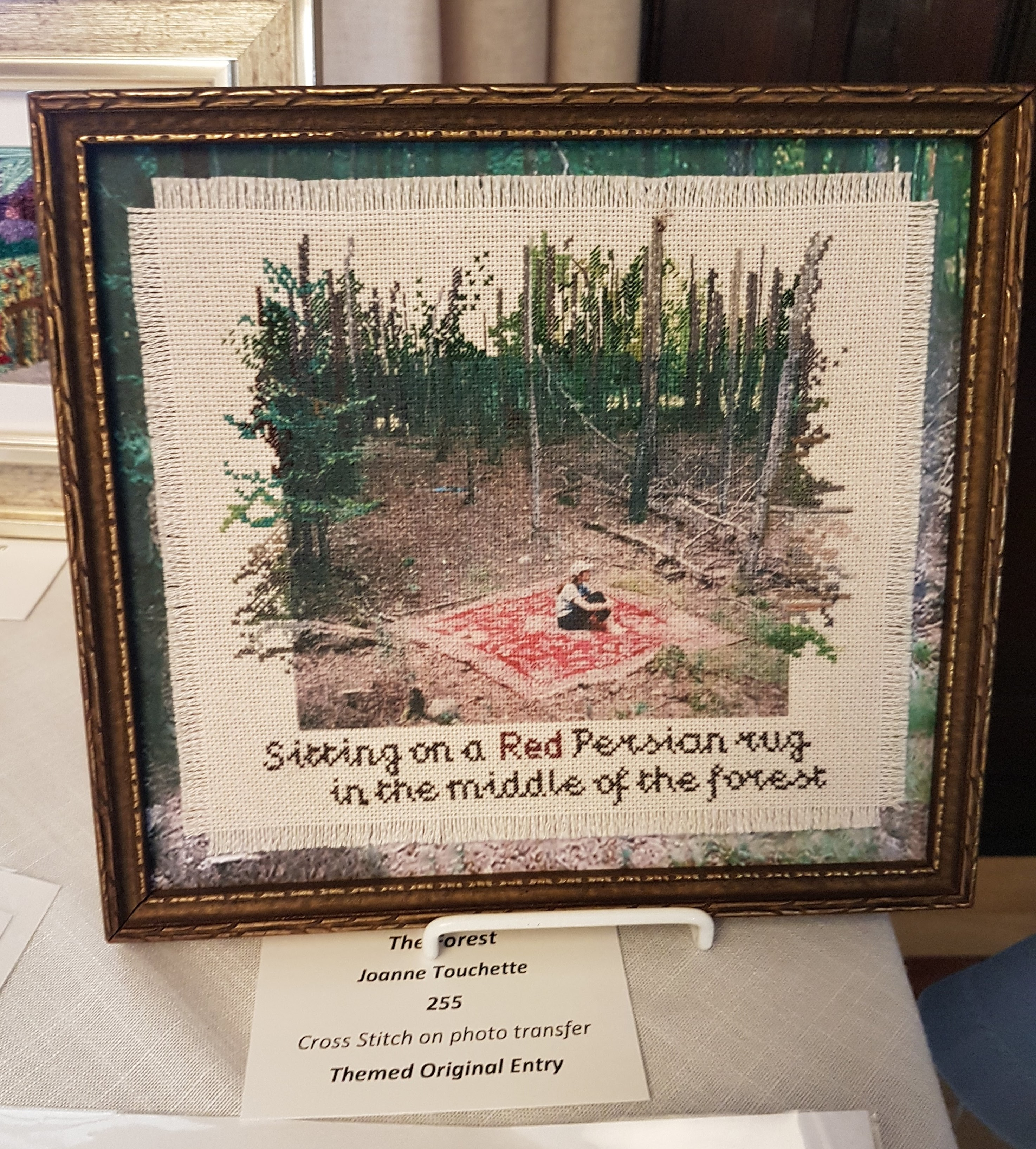 2019Exh.TheForest.byJoanneT.Enny1stplace. OD3rdplace